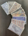 MASQUE 3 FOLDS LOT OF 5
