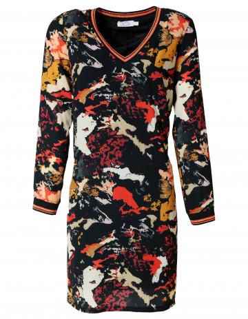 ROBE DOOWI - Imprimé camouflage coloré