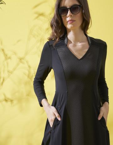 DRESS LYANA - Black