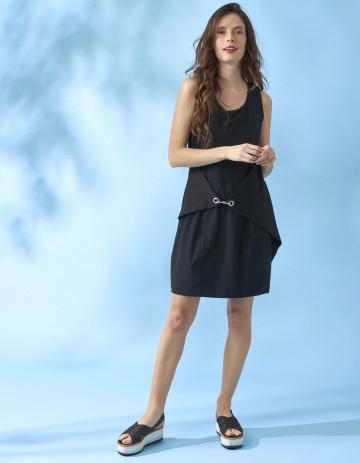 DRESS MALDEN - Black