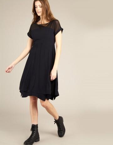 DRESS AKOY-88 - Black