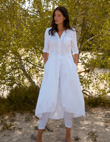 DRESS ONO-88 - White
