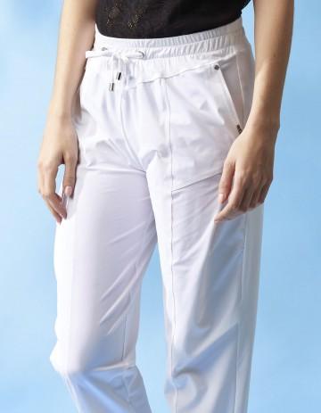 PANT JAHO - White