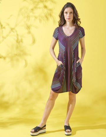DRESS ILICO - Imprimé multicolor