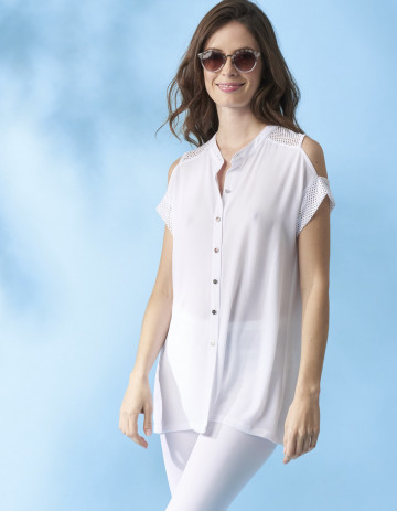 BLOUSE KALIE - White