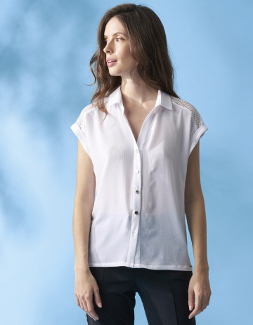 BLOUSE KICK - White