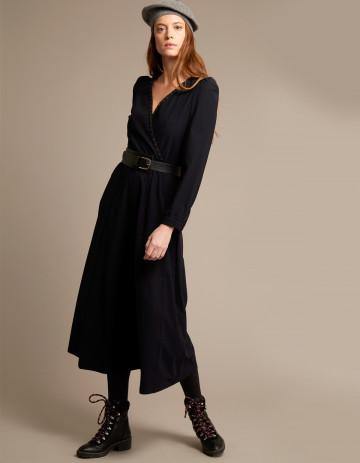 DRESS ANDORA-88 - Black
