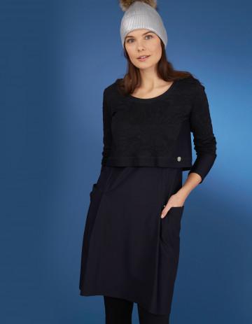 DRESS CHYPRE-88 - Black