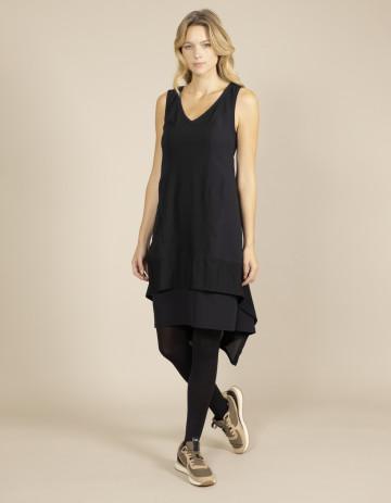 DRESS PEROU-88 - Black