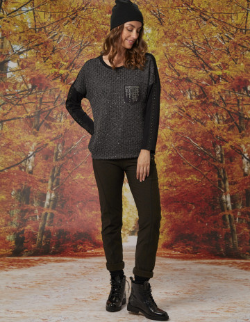 TOP KLOU - Anthracite