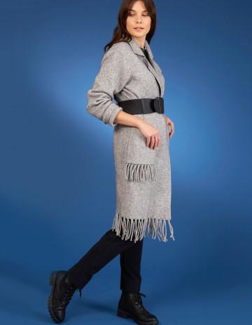 COAT DAKOTA-88 - Feather grey