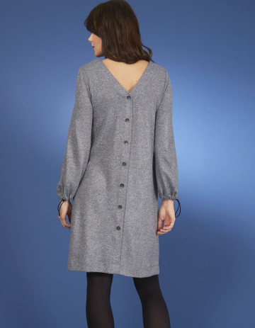 DRESS ZILLING-88 - Feather grey