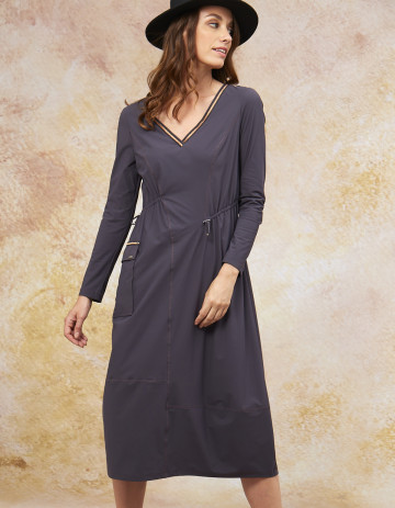 DRESS JANA - Acier