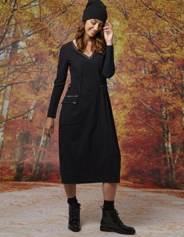 DRESS JANA - Black